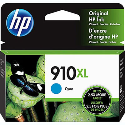 HP 910XL High Yield Color Printer Ink Cartridges