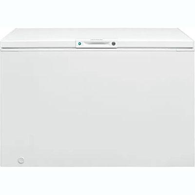 Frigidaire® 12.8 Cu. Ft. White Chest Freezer at Dell's Home Appliance & Mattress Center