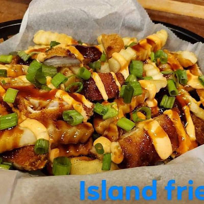 Shop Pocatello A Taste of Hawaii Island Fries
