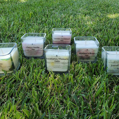 Mind Body Balance Candles at Poky Dot Boutique