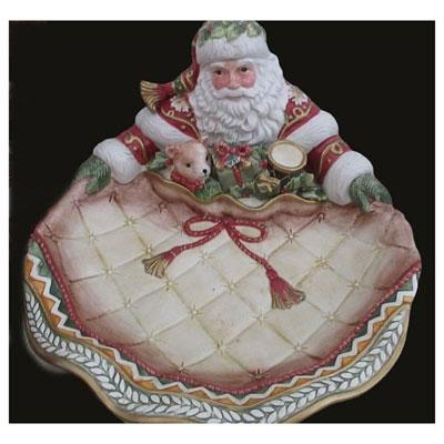 Shop Pocatello Cherubs Creative Santa Claus Platter