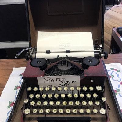 Shop Pocatello 2nd Time Around Pocatello Rare typewriter