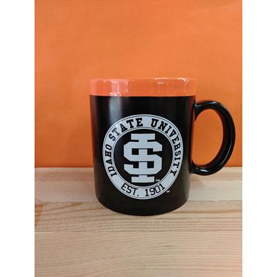 Shop Pocatello Orange and Black Store Black and Orange mug