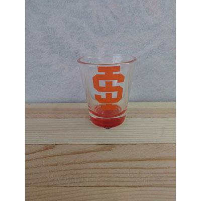 Shop Pocatello Orange and Black Store shot glass