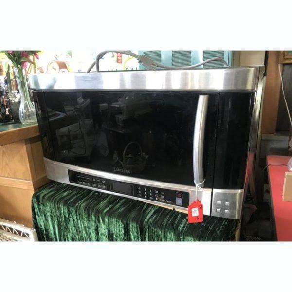 Samsung Over Range Microwave at 2nd Time Around Pocatello