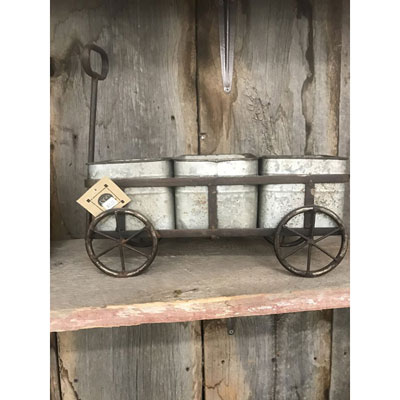 Shop Pocatello The Pocatello Greenhouse wagon planter